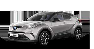 Toyota C-HR - Concessionario Toyota a Latina e Formia